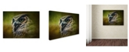 "Trademark Global Jai Johnson 'Great Horned Owl In The Grove' Canvas Art - 32"" x 24"" x 2"""