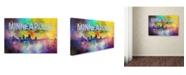 "Trademark Global Jai Johnson 'Sending Love To Minneapolis' Canvas Art - 24"" x 16"" x 2"""