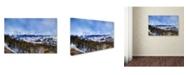 "Trademark Global Jai Johnson 'Colorado Mountains 3' Canvas Art - 32"" x 22"" x 2"""