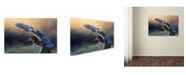 "Trademark Global Jai Johnson 'Flight Of The Green Heron 2' Canvas Art - 32"" x 22"" x 2"""