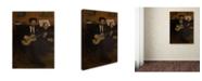 "Trademark Global Degas 'Lorenzo Pagans And Auguste De Gas' Canvas Art - 32"" x 24"" x 2"""