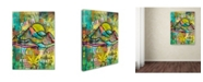 "Trademark Global Dean Russo 'Overgrow Vermont' Canvas Art - 47"" x 35"" x 2"""