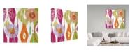 "Trademark Global Color Bakery 'Chanda I' Canvas Art - 24"" x 24"" x 2"""