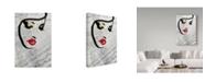 "Trademark Global Color Bakery 'Serein' Canvas Art - 19"" x 12"" x 2"""