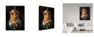 "Trademark Global Dana Brett Munach 'Chris Whitley' Canvas Art - 32"" x 24"" x 2"""