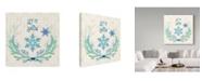"Trademark Global Irina Trzaskos Studio 'Christmas II' Canvas Art - 14"" x 14"" x 2"""