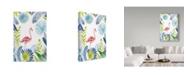 "Trademark Global Irina Trzaskos Studio 'Flamingo 1' Canvas Art - 24"" x 16"" x 2"""