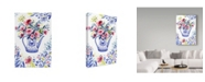 "Trademark Global Irina Trzaskos Studio 'Peonies 2' Canvas Art - 24"" x 16"" x 2"""