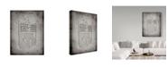 "Trademark Global Cole Borders 'Logo' Canvas Art - 32"" x 24"" x 2"""