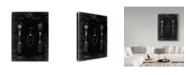 "Trademark Global Cole Borders 'Silverware' Canvas Art - 19"" x 14"" x 2"""