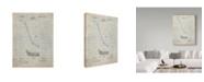 "Trademark Innovations Cole Borders 'Hockey Stick' Canvas Art - 47"" x 35"" x 2"""