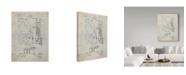 "Trademark Global Cole Borders 'Mechanics 22' Canvas Art - 47"" x 35"" x 2"""