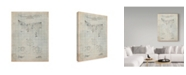 "Trademark Global Cole Borders 'Prospective' Canvas Art - 24"" x 18"" x 2"""