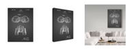 "Trademark Innovations Cole Borders 'Binoculars' Canvas Art - 32"" x 24"" x 2"""