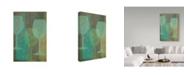 "Trademark Global Cora Niele 'Art Of Wine - Burgundy' Canvas Art - 32"" x 22"" x 2"""