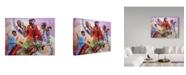 """Trademark Global D. Rusty Rust 'Musicians' Canvas Art - 24"""" x 18"""" x 2"""""""