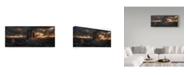 "Trademark Global David Martin Castan 'The Cliffs In The Dark' Canvas Art - 47"" x 2"" x 20"""