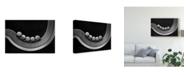 "Trademark Global Jacqueline Hammer 'Five Marbles' Canvas Art - 32"" x 2"" x 22"""