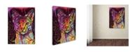 "Trademark Global Dean Russo 'Abyssinian' Canvas Art - 18"" x 24"" x 2"""