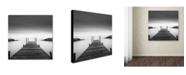 "Trademark Global Dave MacVicar 'Leuty' Canvas Art - 18"" x 18"" x 2"""