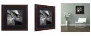 """Trademark Global Dave MacVicar 'Yin Yang' Matted Framed Art - 16"""" x 16"""" x 0.5"""""""