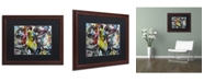"Trademark Global Dan Monteavaro 'Strongman' Matted Framed Art - 20"" x 16"" x 0.5"""
