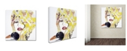 "Trademark Global Ines Kouidis 'Brigitte' Canvas Art - 35"" x 35"" x 2"""