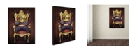 "Trademark Global J Hovenstine Studios 'The Frog Prince' Canvas Art - 19"" x 14"" x 2"""