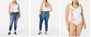 Love Tribe Trendy Plus Size Coca-Cola Graphic-Print Bodysuit