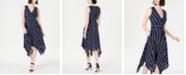 Jessica Howard Sleeveless Hanky-Hem Dress