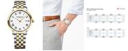 Raymond Weil Men's Swiss Toccata Two-Tone Stainless Steel Bracelet Watch 39mm