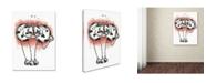 "Trademark Global Michelle Campbell 'Udderly Budderly' Canvas Art - 19"" x 14"" x 2"""