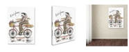 "Trademark Global Michelle Campbell 'Monsieur Merlot' Canvas Art - 47"" x 35"" x 2"""