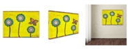 "Trademark Global Tammy Kushnir 'Fly Away' Canvas Art - 19"" x 14"" x 2"""