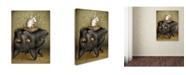 "Trademark Global Jason Limon 'Perilous Pedestal' Canvas Art - 47"" x 35"" x 2"""