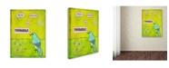 "Trademark Global Tammy Kushnir 'Have Faith In Yourself' Canvas Art - 47"" x 35"" x 2"""