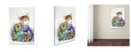 "Trademark Global Oxana Ziaka 'Beautiful Provence Cat' Canvas Art - 19"" x 12"" x 2"""