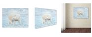 """Trademark Global Robert Wavra 'Looking Back' Canvas Art - 32"""" x 24"""" x 2"""""""