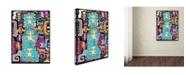 "Trademark Global Miguel Balbas 'Circuits XII' Canvas Art - 24"" x 18"" x 2"""
