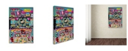 """Trademark Global Miguel Balbas 'Mixed Paintings' Canvas Art - 19"""" x 12"""" x 2"""""""