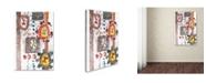 "Trademark Global Miguel Balbas 'Summer I' Canvas Art - 32"" x 22"" x 2"""