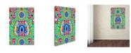 """Trademark Global Miguel Balbas 'Flower Power 3' Canvas Art - 47"""" x 30"""" x 2"""""""