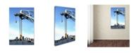 """Trademark Global The Lieberman Collection 'Crane' Canvas Art - 47"""" x 30"""" x 2"""""""