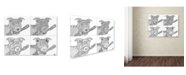 """Trademark Innovations Not-Wolf-Productions 'Sophie Sophie' Canvas Art - 19"""" x 14"""" x 2"""""""