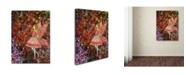 "Trademark Global Janelle Nichol 'Glow' Canvas Art - 32"" x 24"" x 2"""