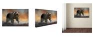 "Trademark Global Jai Johnson 'The Approach' Canvas Art - 19"" x 12"" x 2"""