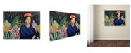 "Trademark Global Sylvie Demers 'Frida' Canvas Art - 24"" x 18"" x 2"""