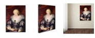 "Trademark Global Peter Paul Rubens 'Portrait Of A Lady' Canvas Art - 47"" x 35"" x 2"""