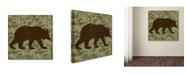 "Trademark Global Jean Plout 'Wilderness Lodge 5' Canvas Art - 14"" x 14"" x 2"""