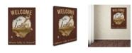 "Trademark Global Jean Plout 'Wilderness Lodge 26' Canvas Art - 32"" x 24"" x 2"""